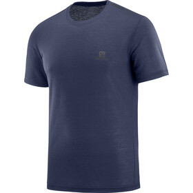 Salomon Explore Camiseta manga corta Hombre, night sky